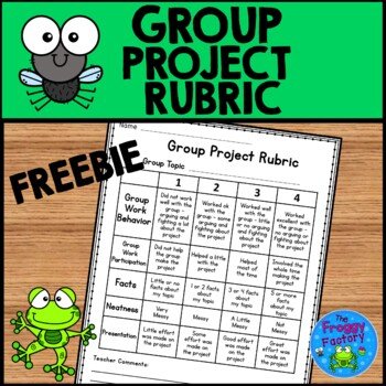 Group Project Rubric FREEBIE