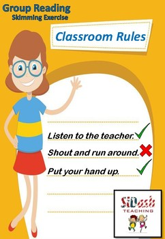 Group Reading Task - Classroom Rules