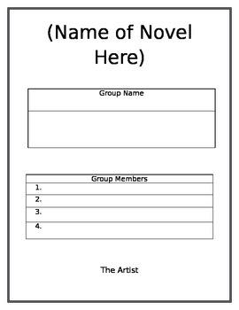 Group Reading Worksheets - Literature Circles