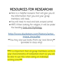 Group Research Project