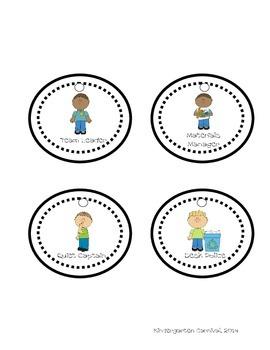 Group Role Necklaces