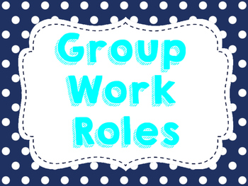 Group Roles - Navy