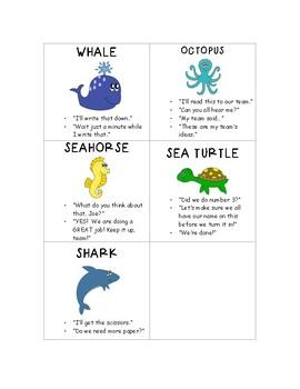 Group Roles - Ocean Theme