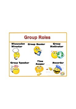 Group Roles Poster