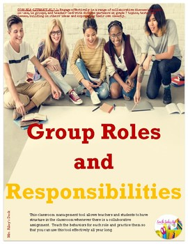 Group Roles and Responsibilities
