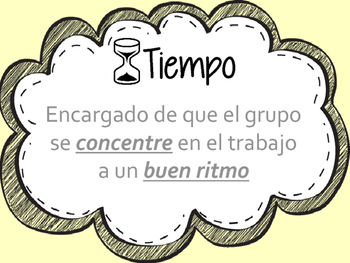 Group Roles in Spanish