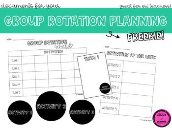 Group Rotation Schedule (ESL)