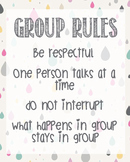 Group Rules Confidentiality School Counselor Lunch Bunch O