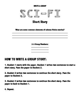 Group Sci-Fi Short Story