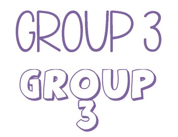 Group Signs
