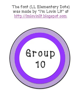 Group Signs 1-10