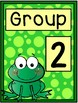 Group Signs - Frog Theme