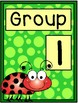 Group Signs - Ladybug Theme