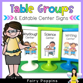 Themed Group Signs (Fit IKEA Tolsby Frames)