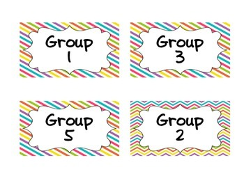 Group Signs and Labels