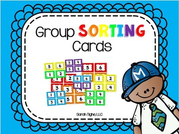 Group Sorting Cards