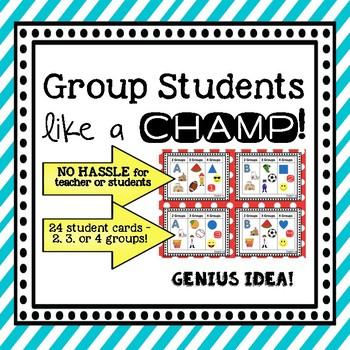 Group Students Like a Champ
