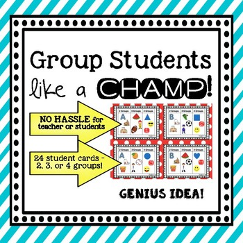 Group Students Like a Champ