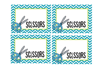 Group Supplies Labels