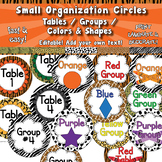 Group & Table Signs - Small circles  APT-001