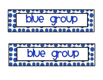 Group Tags