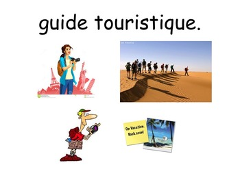 French Teaching Resources. Group Talk Discussing Jobs/ Pro