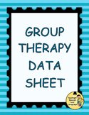 Group Therapy Data Sheet