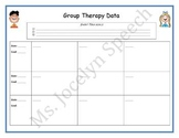 Group Therapy Data Sheets