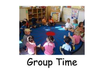 Social Narrative: Group Time/Circle Time