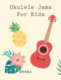 Group Ukulele Class -  Ukulele Jams For Kids
