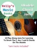 Group Ukulele Class - Ukulele Chord Jams *play-along tracks included