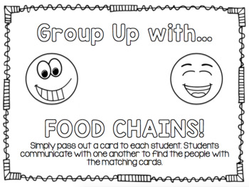 Group Up with Food Chains