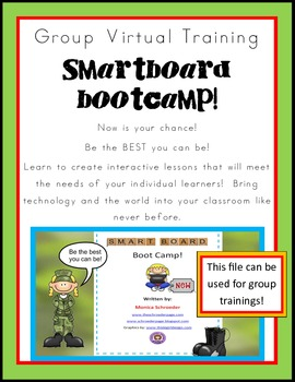 Group Virtual Training: Smartboard Bootcamp!