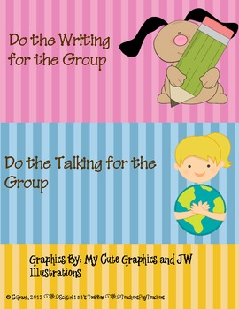 Group Work Assignment Cards
