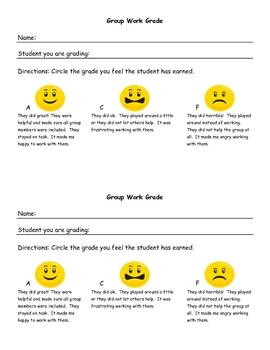 Group Work Grade - Peer Review