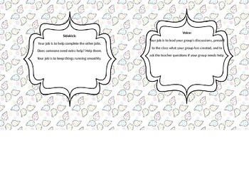 Group Work: Job Roles and Tasks