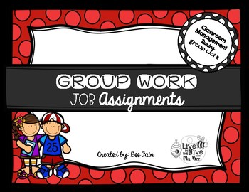 Group Work Job Assignments