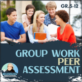 Group Work & Collaboration Peer Evaluation Form