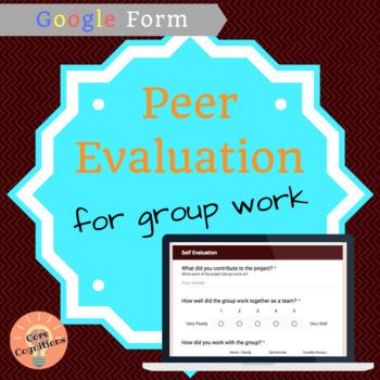 Group Work Peer Evaluation: Google Form