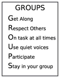 Group Work Poster