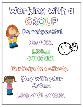 Group Work Poster Expectations