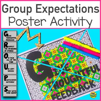 Group Work Posters - Collaborative Posters, Self and Group Evaluations