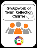 Group - Team Work Reflection Charter Sheet *Free*