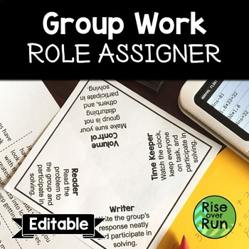 Group Work Role Assigner, Free