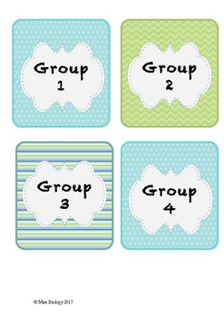 Group Work Role Badges