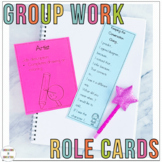 Cooperative Learning Group Work Role Cards