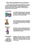 Group Work Role Descriptions