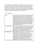 Group Work Roles and Foundations for Middle School Science or STEM