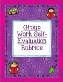Group Work Rubric and Self-Evaluation Tool