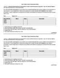 Group Work Score Sheet